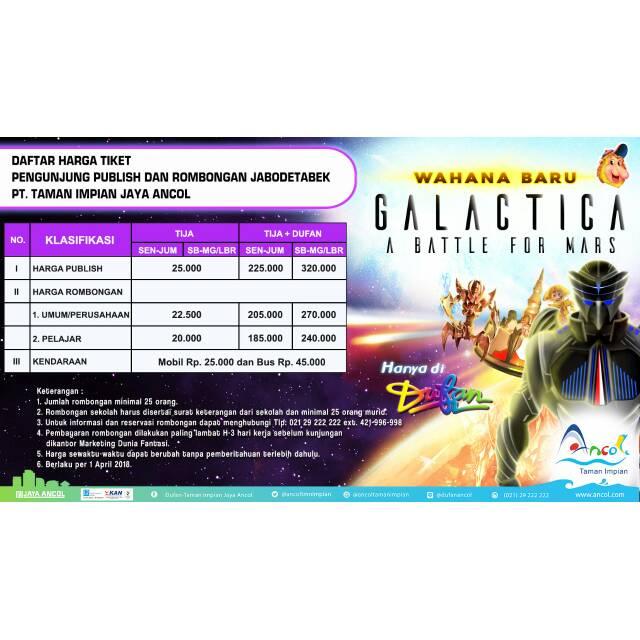 Promo Tiket Ancol Dufan Area Jawa Barat