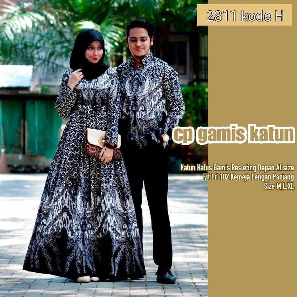 Baju batik couple batik modern baju muslim couple keluarga baju couple  muslim baju sarimbit bati