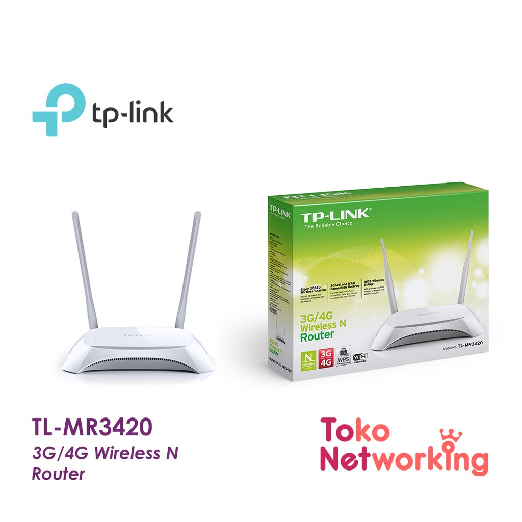 Tplink Tl Mr3020 Portable 3g 4g Wireless N Router Tp Link Shopee Indonesia
