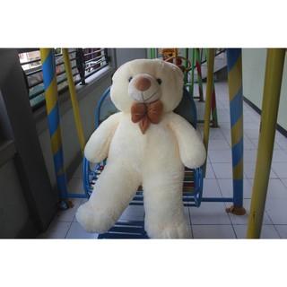 SPESIAL BONEKA TEDDY BEAR JUMBO BANGET CREAM SNI 120CM BONEKA PALING MURAH  DAN TERBARU 4a640a204b