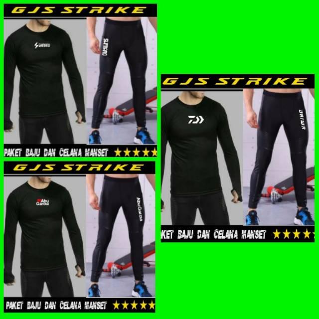 Paket Baju Dan Celana Mancing Baju Kaos Celana Daiwa Shopee Indonesia