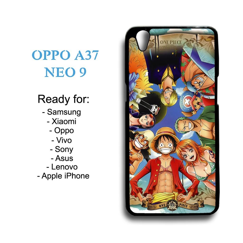 Case One Piece Wallpaper 01 Custom Case Oppo A37 Neo 9 Shopee Indonesia