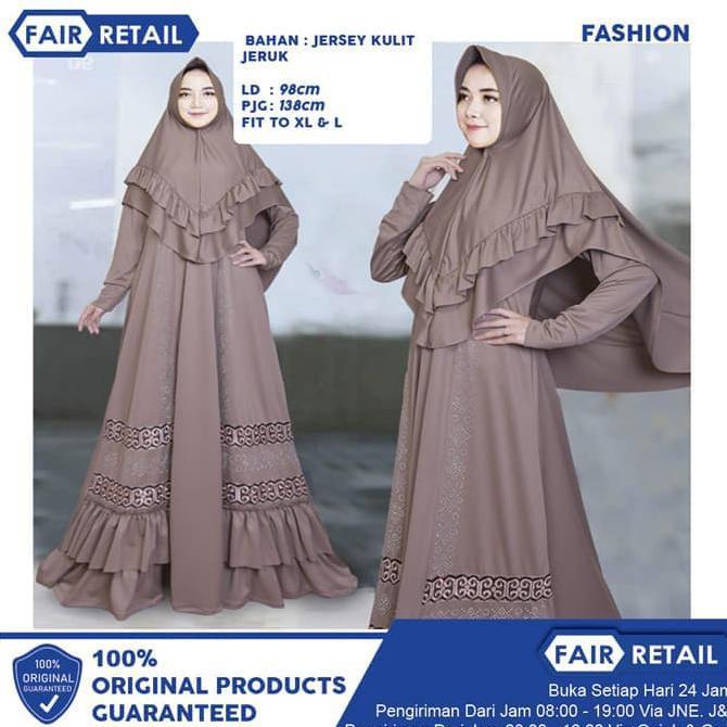 Gamis Gaul 2020 Baju Gamis Syari Bahan Jersey Fit To L To Xl Melar Ladangki Production Shopee Indonesia