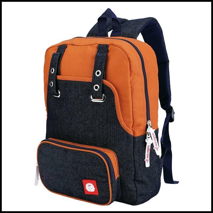 Tas Ransel Sekolah Backpack Punggung Laptop SD SMP Wanita Anak Perempuan Tan Catenzo Junior CRZ 189 | Shopee Indonesia