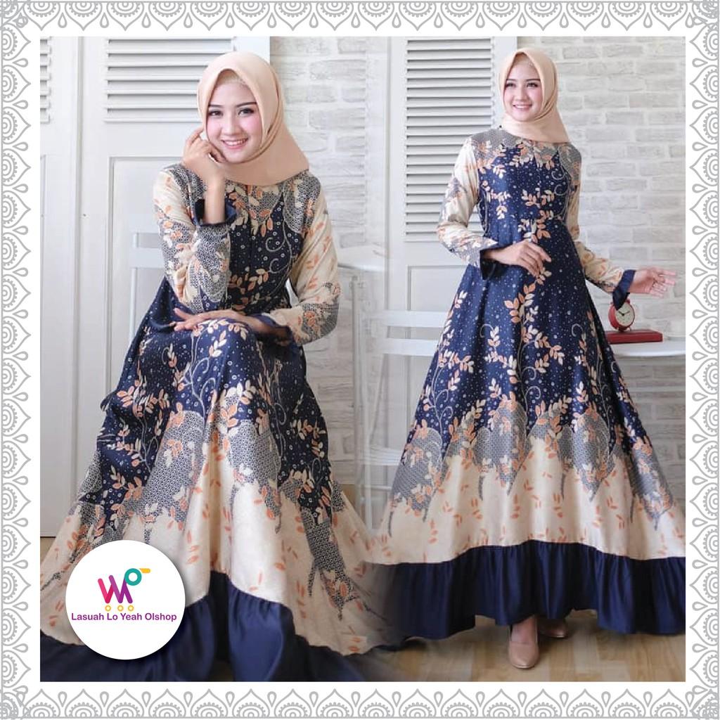 Baju gamis / Baju muslim wanita terbaru / Baju muslimah / Baju dress wanita  / Gamis modern / Dress d
