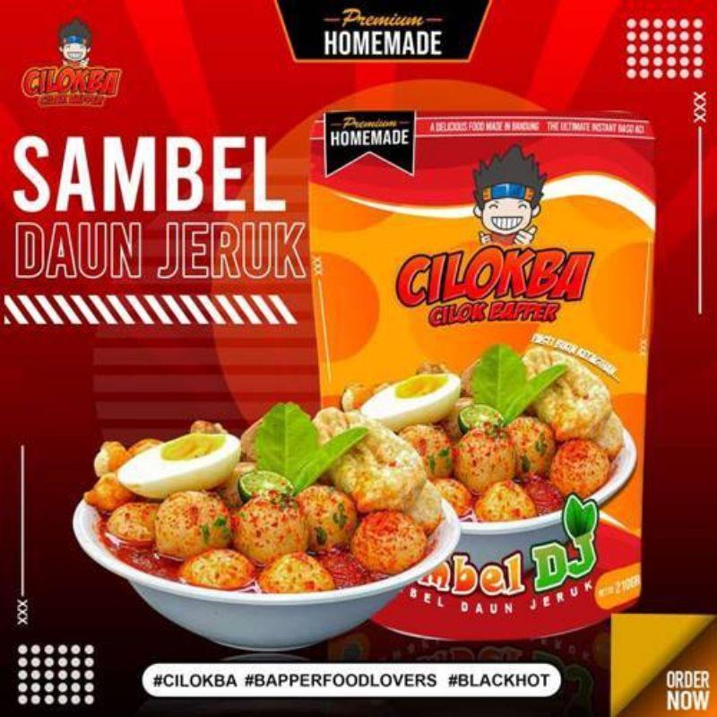Cilok Baper Sambel (DJ) Daun Jeruk