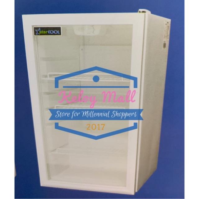 Showcase Pendingin Kulkas Mini 110 Liter Kulkas Kecil Cooler Box