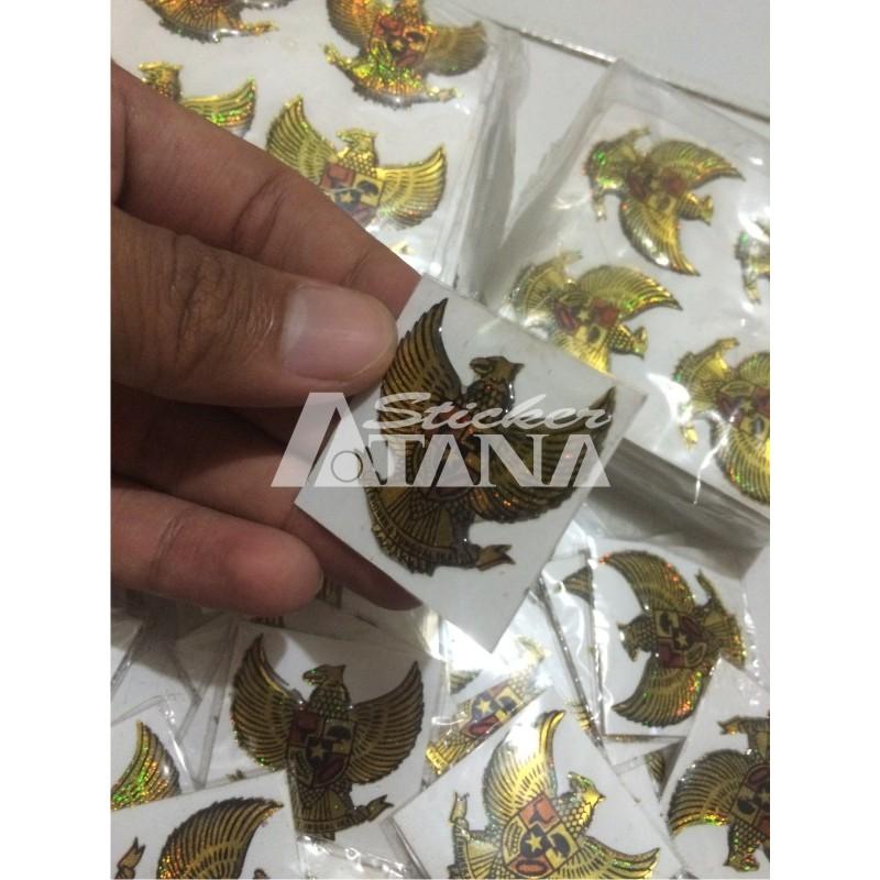 Sticker Cutting Timbul Emblem Garuda Pancasila Kecil Shopee