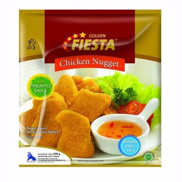 Chicken nugget golden fiesta 500 gram