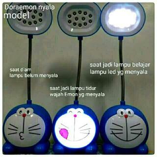 Terbaru Lampu Belajar Led Lampu Meja Karakter Doraemon 2in1