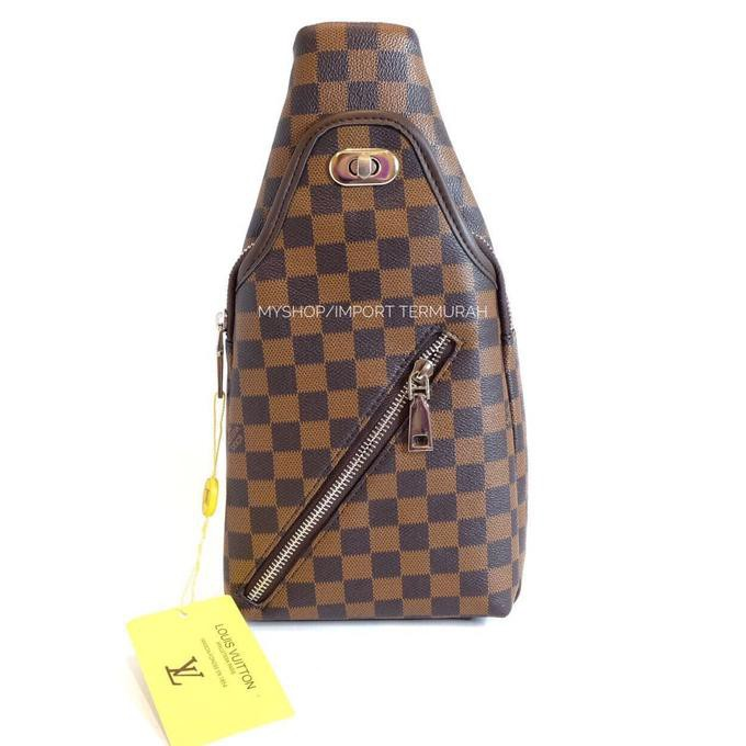 Tas Selempang Pria Kulit Import Branded Bally - 9909-2 Brown ... 7756573b34