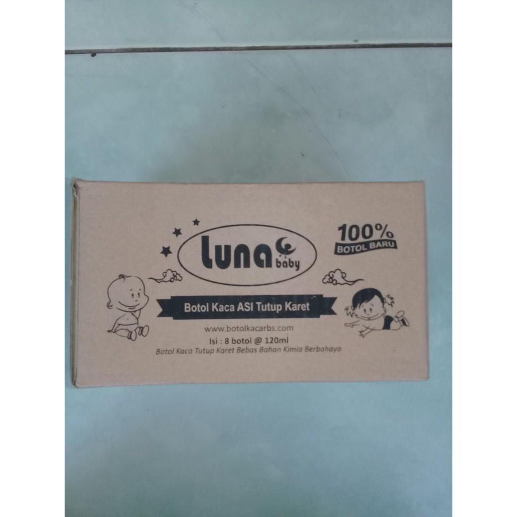 Bka Botol Kaca Asi 100 Ml Isi 8 Shopee Indonesia Bpa Free Pcs