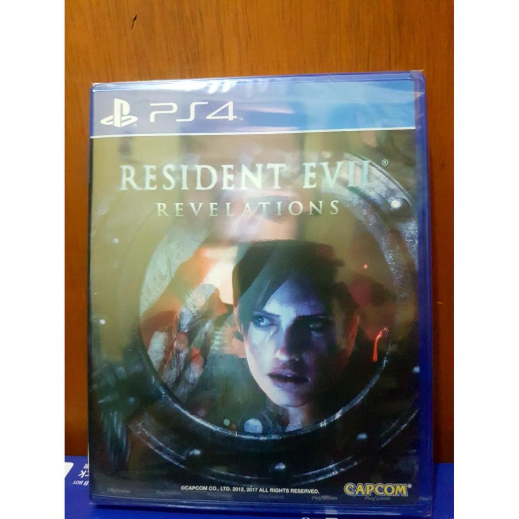Resident Evil Revelation Ps4 Shopee Indonesia Revelations 1 Reg 3