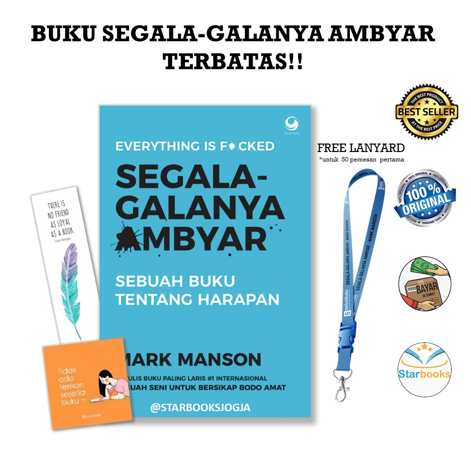 Ready Buku Everything Is F Cked Segala Galanya Ambyar Free