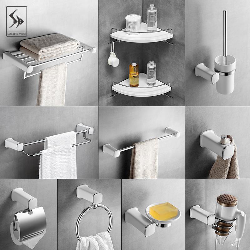 Towel Rack 304 Stainless Steel Bath Towel Rack Bathroom Hardware Bathroom Accessories Punch Free Toilet Toilet Rack Shopee Indonesia
