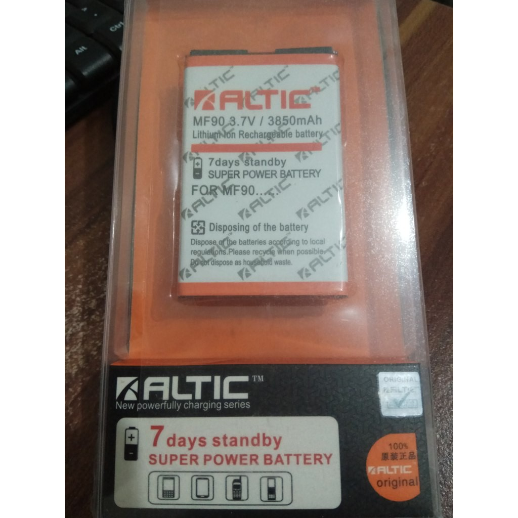 Baterai Modem Bolt ZTE MF90 / MF91 Original OEM | Battery Batrai Batre, MF 90, MF 91 | Shopee Indonesia