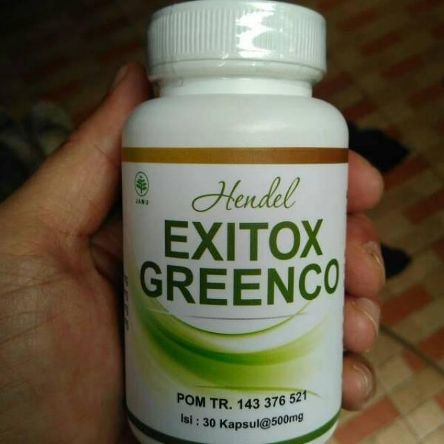 Obat Diet Pelangsing Penurun Berat Badan Hendel Exitox Greenco Green Coffee Bean | Shopee Indonesia