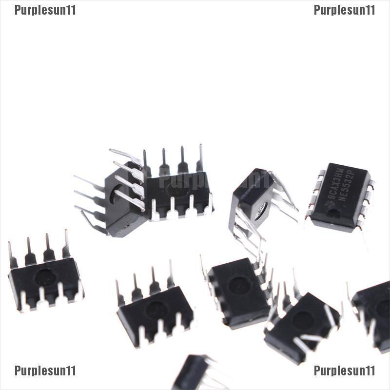 NE5532 Low Noise Dual Op-Amp IC 8 Pin DIL Package