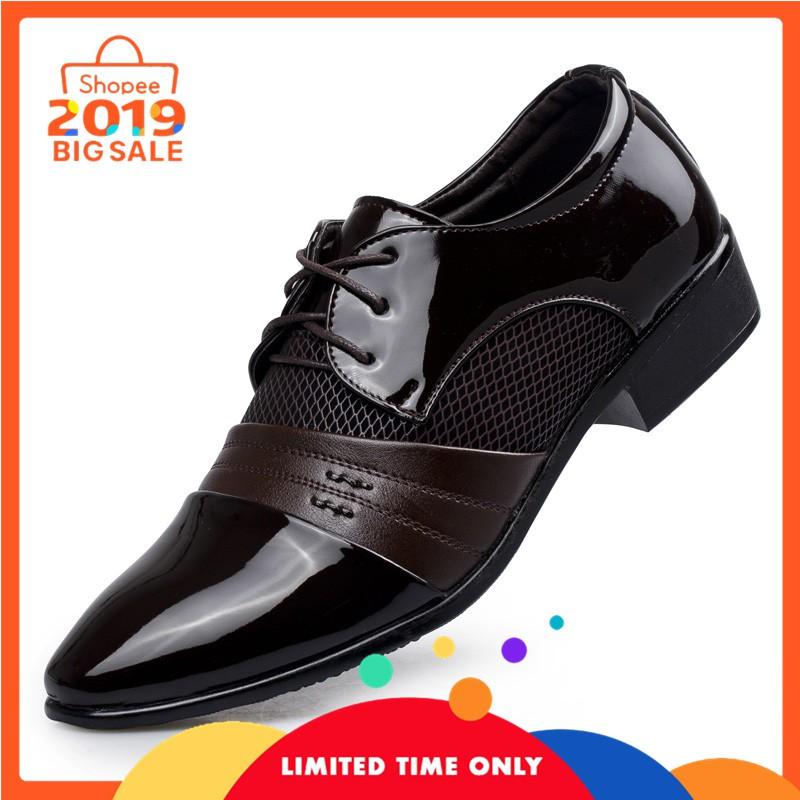 READY  sepatu formal pantofel kulit impor sepatu kantor sp283 Limited  6a9cd68679