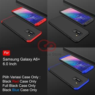 Calandiva Hard Case Samsung Galaxy A6 Plus 2018 Casing Premium Front Back 360 Degree Full Protection. 1/8