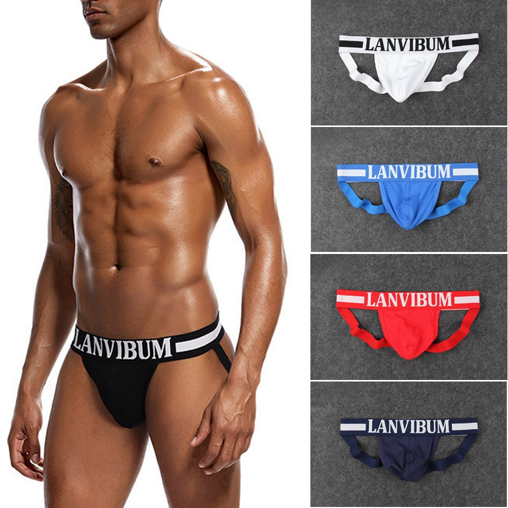 47095827e463 Sexy Mens Jock Strap Comfy Underwear Backless Jockstrap Briefs Underpants  Thong