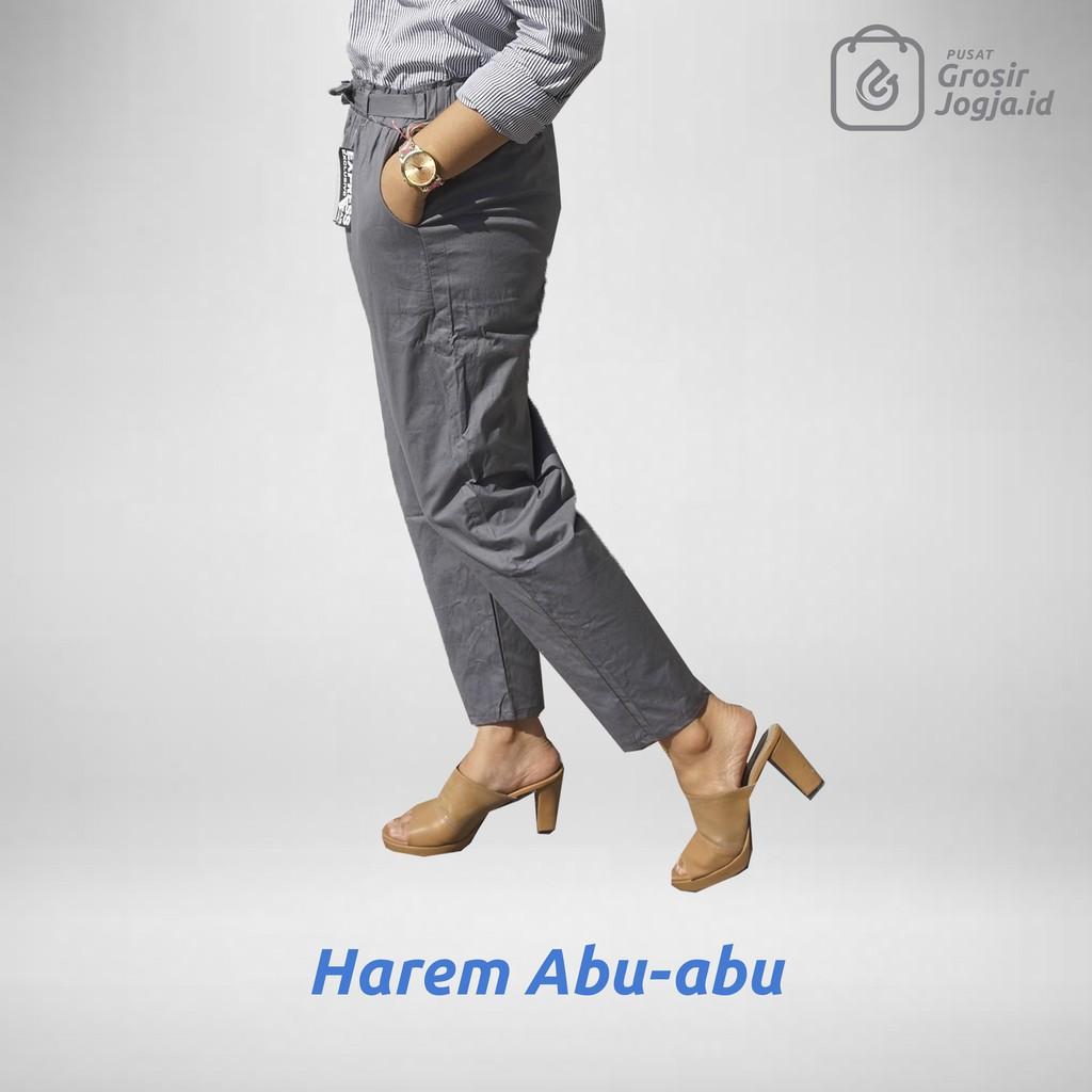 Harem Pants Cotton Strecth Celana Katun Shopee Panjang Wanita Hareem Standart Indonesia