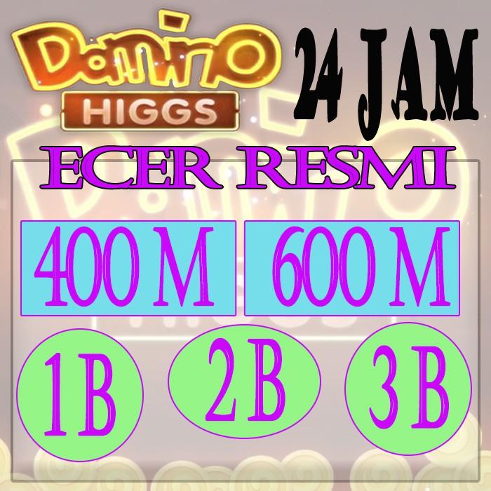 Chip ECER RESMI - Chip Higgs Domino - Higgs Domino Island - Chip Resmi - Chip Ungu - Chip MD