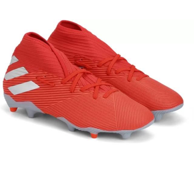 Sepatu Bola Adidas Nemeziz 19 3 Red Fg Original Shopee Indonesia