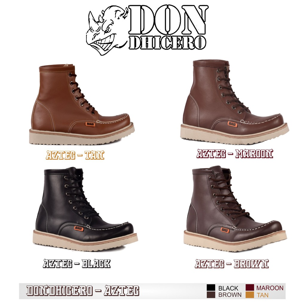 Sale SEPATU BOOTS TINGGI DONDHICRO AZTEC discount - only 145.555Rp cbccfe3e88