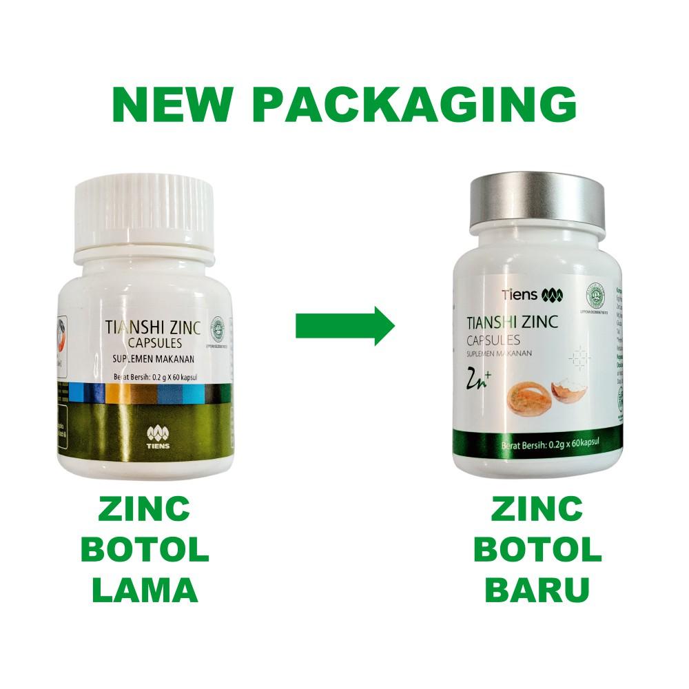 Tiens / Tianshi PAKET PENGGEMUK BADAN SILVER   Zinc + Spirulina   Penambah Berat Tubuh Herbal