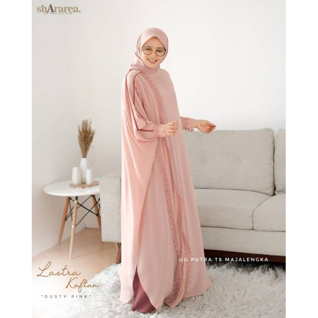 Shararea Lastra Kaftan By Shararea Dress Only Syari Brand Premium Syari Kekinian Shopee Indonesia