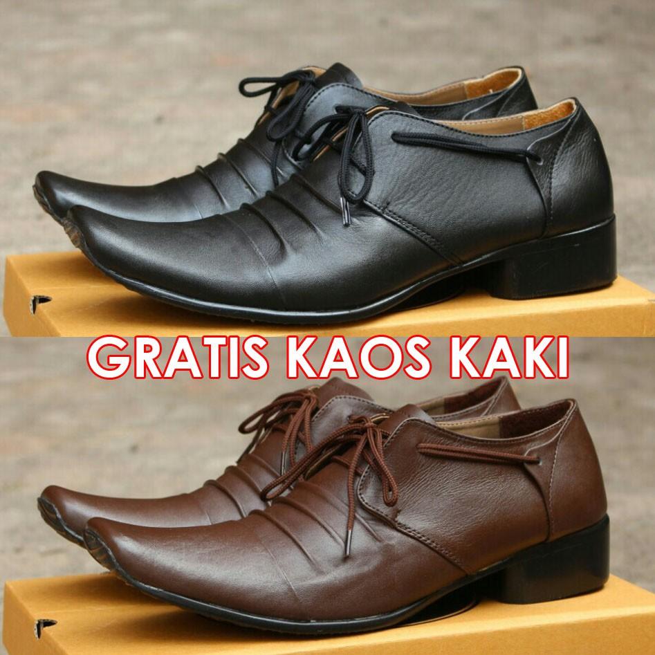 Sepatu Pantofel Pria Cevany Woody Kulit Asli Casual Kerja Pantopel Veil Kantor Shopee Indonesia