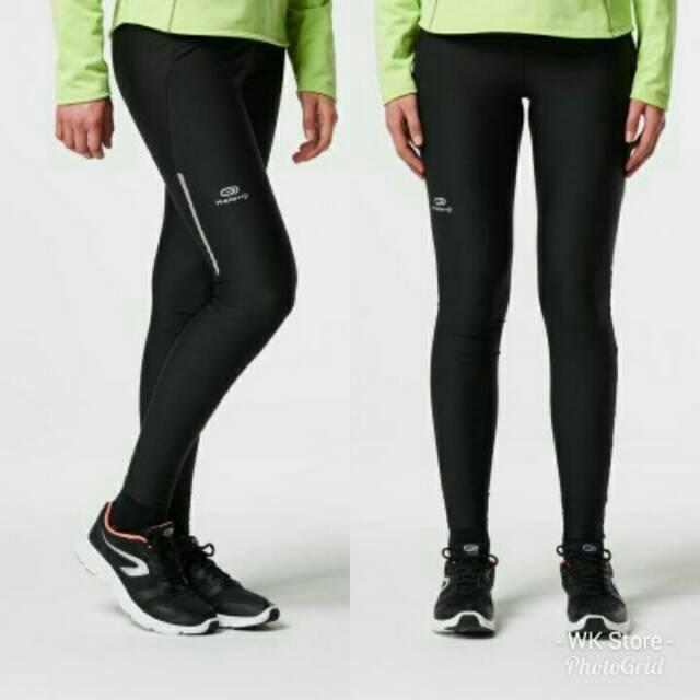 Celana Lari Jogging Wanita Kalenji Run Dry Running Tigts Legging Senam Yoga Shopee Indonesia