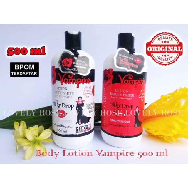 LOTION VAMPIRE ORIGINAL BPOM .