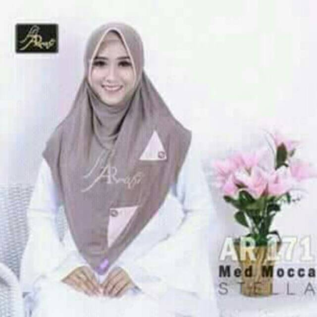 jilbab instan EMILY by Arrafi AR 110 hijab kerudung bergo daily ... 7917109107