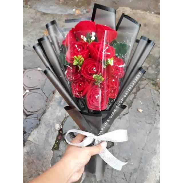 Buket Bunga Cantik Mewah Untuk Kado Wisuda Ultah Dll Shopee Indonesia