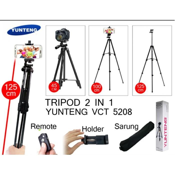Tripod Yunteng Bluetooth VCT 5208