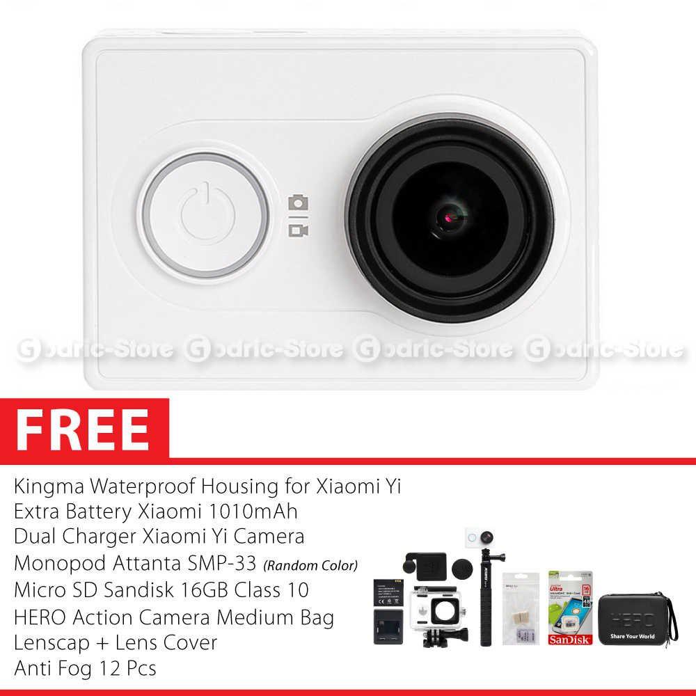 Xiaomi Yi Combo Exclusive Action Camera Original Shopee Indonesia Monopod Attanta Smp 33 Hitam