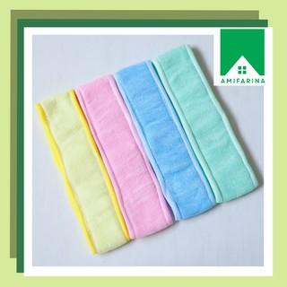 [50gr] G05 Headband Beauty Towel Bandana Make Up Bando Facial Bando Kepala Mandi - BDM thumbnail