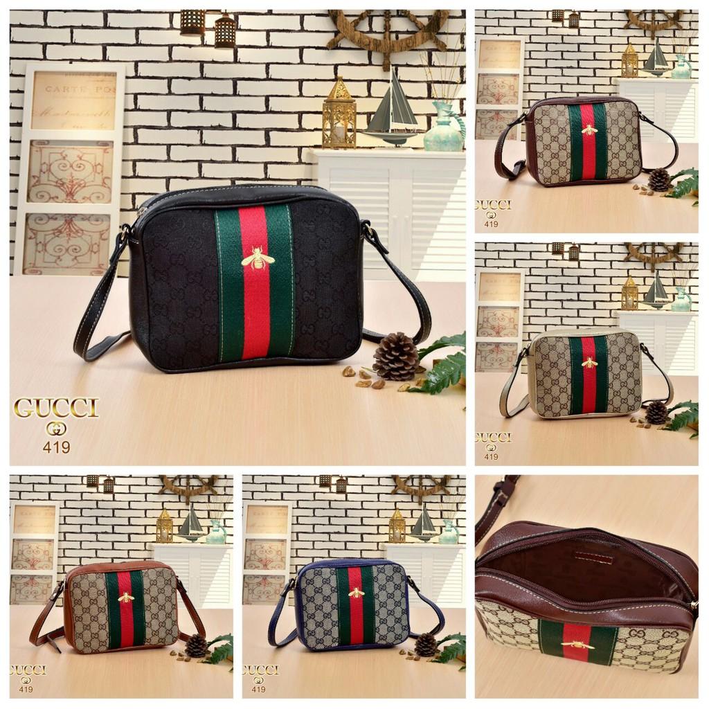 Mini Bag Gucci G 419    tali panjang bs di setel  02e8922e6e