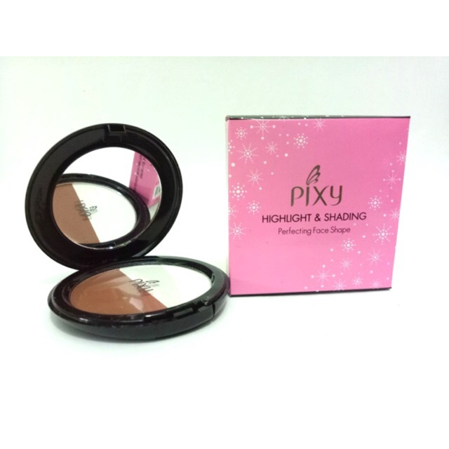 CUCI GUDANG PIXY HIGHLIGHT & SHADING PERFECTING FACE SHAPE | Shopee Indonesia