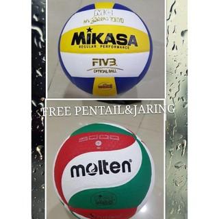 Bola Voli Mikasa3300Gold Molten 5000 Volley Ball Best Quality