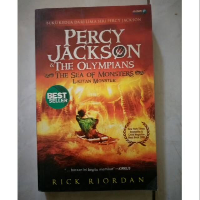 Percy Jackson & The Olympians 2 : The Sea of Monsters/Lautan Monster - Rick  Riordan