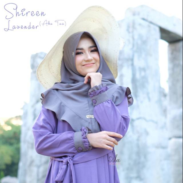 Gamis Set Shireen By Aden Gamis Aden Shopee Indonesia