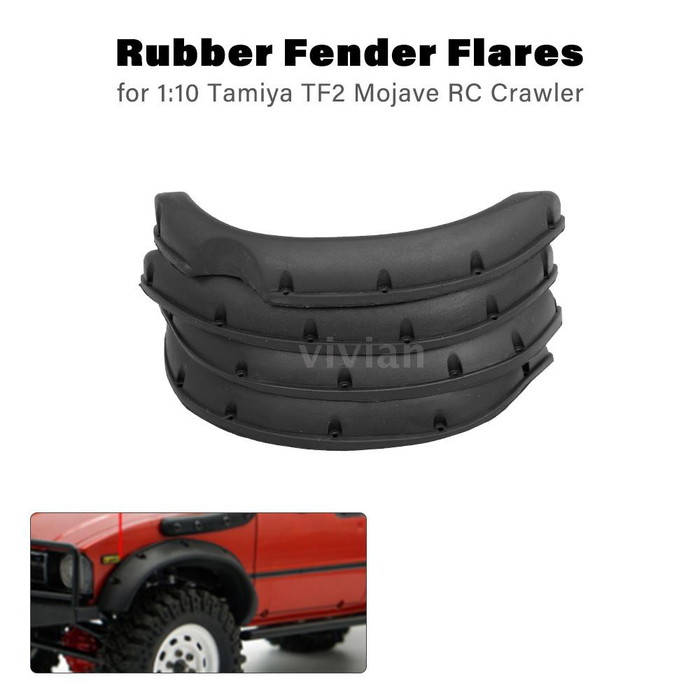 Car Body Parts >> Rubber Fender Flares For 1 10 Tamiya Rc4wd Tf2 Mojave Rc Crawler Car Body Parts