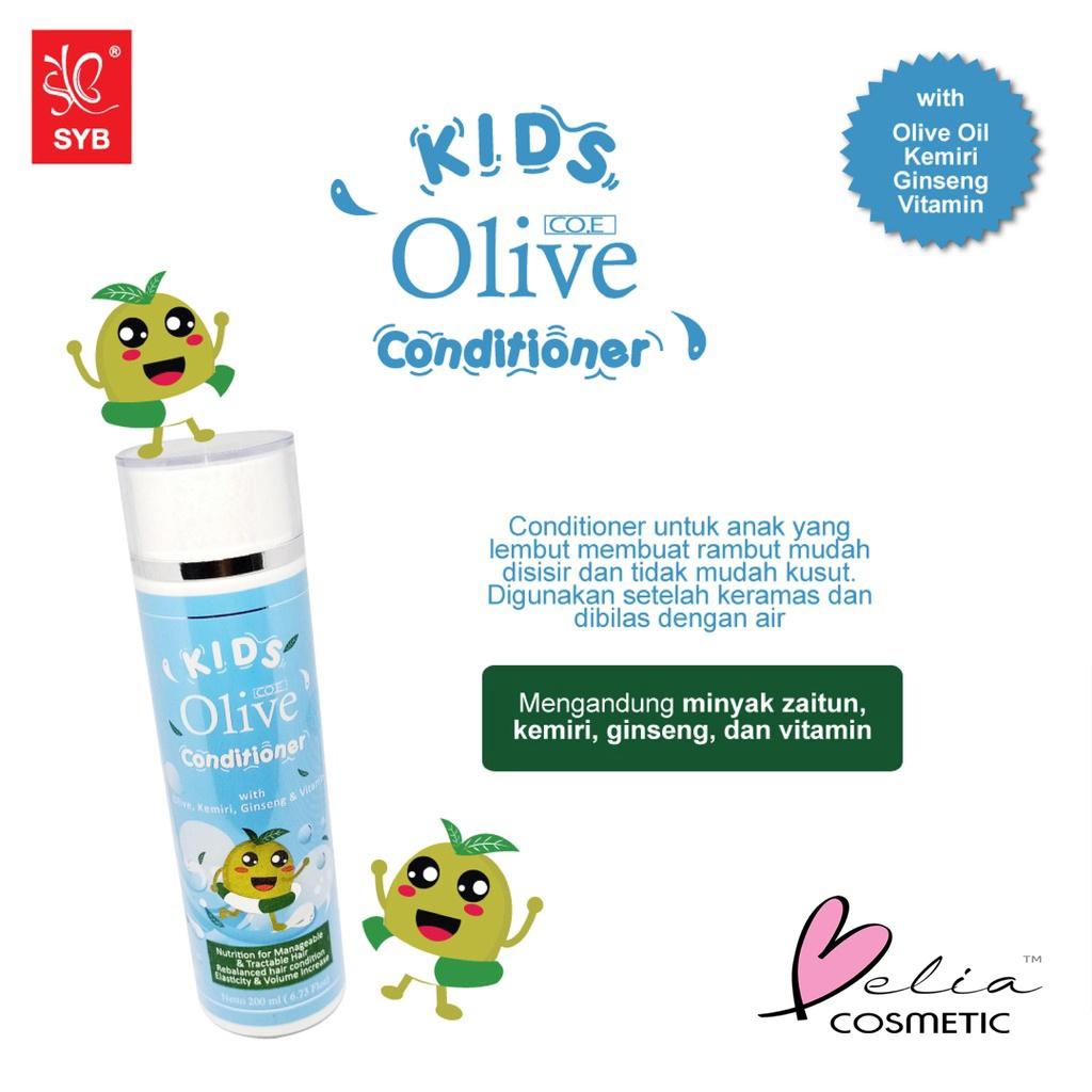 ❤ BELIA ❤ CO.E Olive Hair Treatment | Shampoo | Conditioner | Tonic | Shampo SYB (✔BPOM)-3