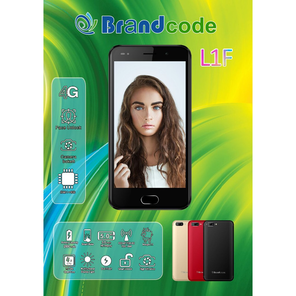 Brandcode L1f 4g Lte Shopee Indonesia Smartphone B3 Prince Android Lcd 35 Inch