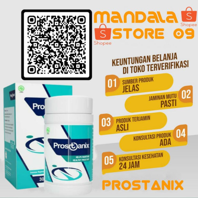 PROSTANIX ORIGINAL | PROSTANIX OBAT PROSTAT AMPUH HERBAL ORIGINAL