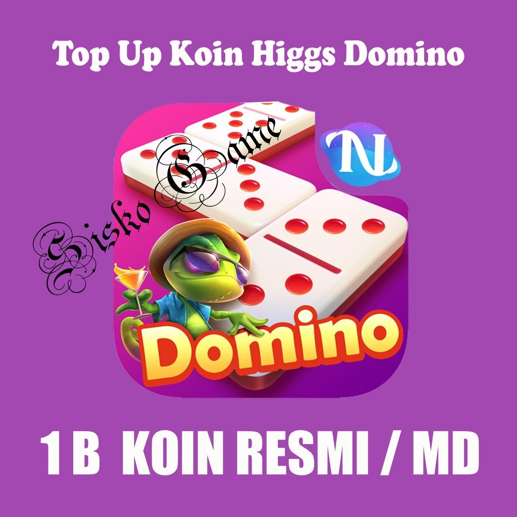 Top Up Koin Higgs Domino 1B MD Ungu - Chip Higgs Domino 1B MD Ungu