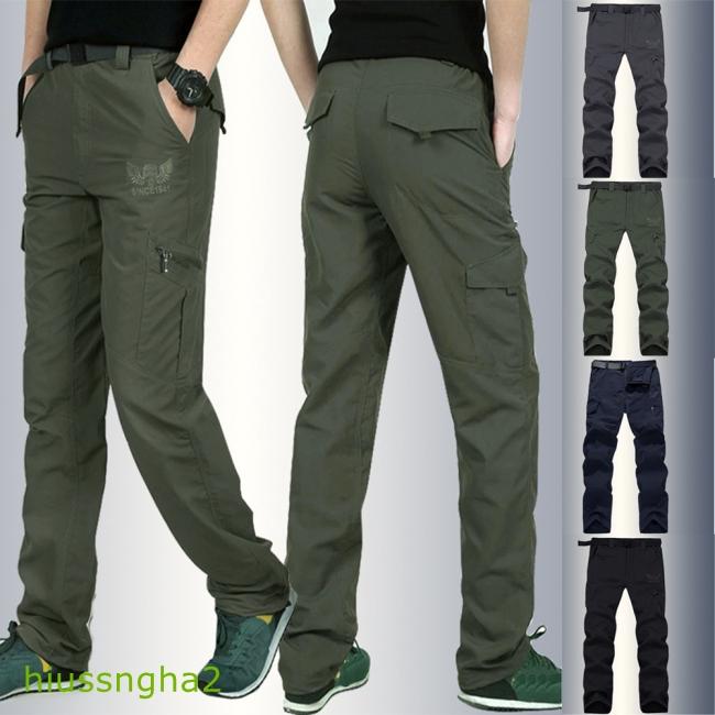 Celana Panjang Pria Model Longgar Anti Air Untuk Outdoor Olahraga Mendaki Gunung Shopee Indonesia